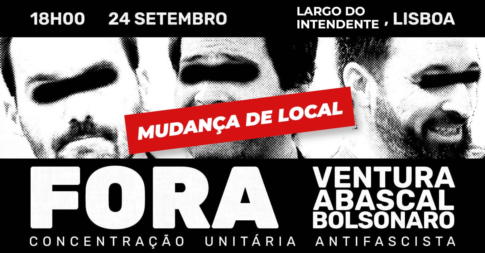 image from Concentração Fora Ventura, Abascal e Bolsonaro