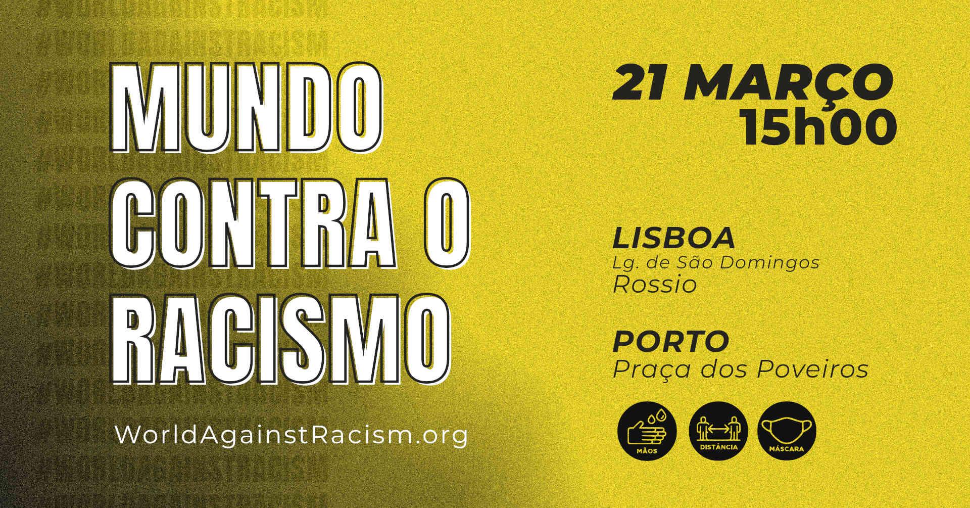image from Mundo Contra o Racismo